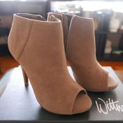 Couture Peeptoe Boots 1